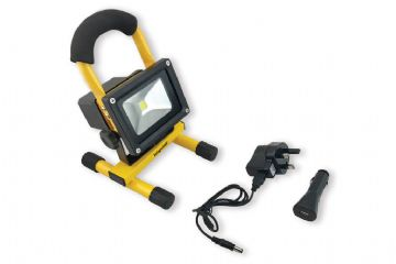 Infapower Work Floodlight COB LED 10 Watts 800+ Lumens Rechargeable IP65